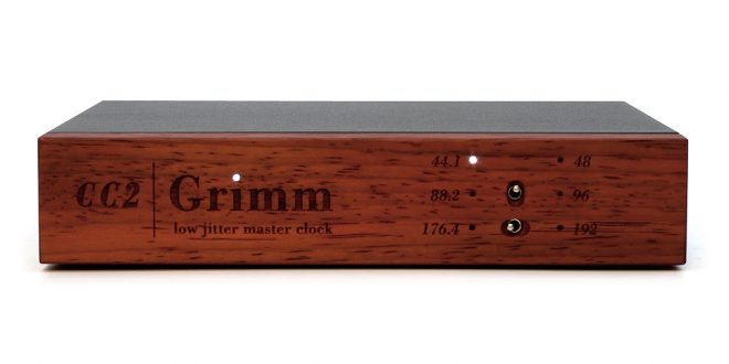 輕鬆升級主時鐘: Grimm Audio CC2 Master Clocks